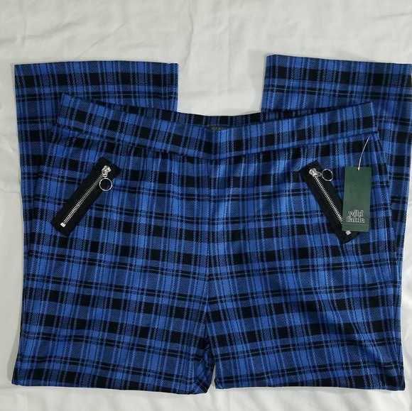 target Pants - *Sold Wild Fable Womens Plaid Pants Size XXL